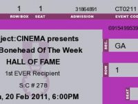 This Weekend on Subject:CINEMA…