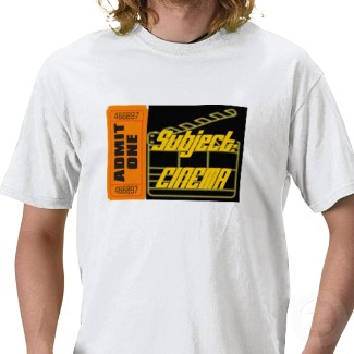 Subject:CINEMA shirt