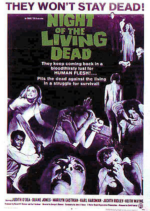 "Subject:CINEMA #310 – ""SCREEN SCREAMS: It's The Living Dead, Baby!"""