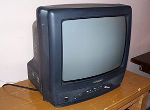 A SYRONICS television set of syrian production.