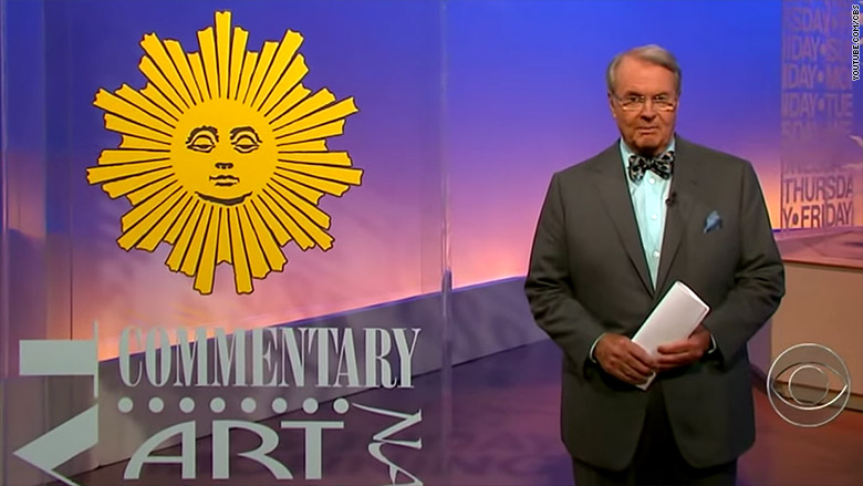 "TRIBUTE: Charles Osgood says ""So Long"" to CBS Sunday Morning..and my Sundays won't be the same…"
